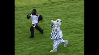 Bizarre Soccer Mascot Race - Video
