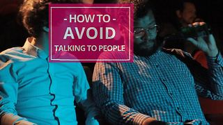 How to avoid talking to people: at the movies - Video