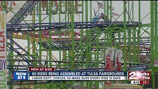 Ride inspections under way before Tulsa State Fair opens - Video