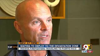 Indiana firefighters will help Puerto Rico recover - Video