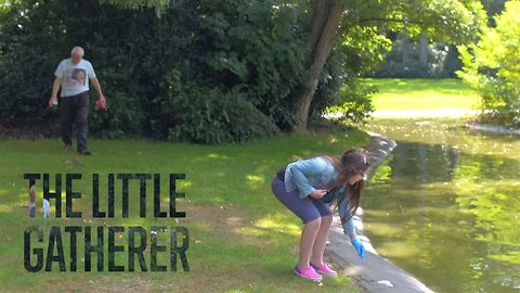 This 9-year-old will inspire you to clean the earth