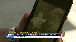 Vietnam survivor takes over Veterans Village - Video