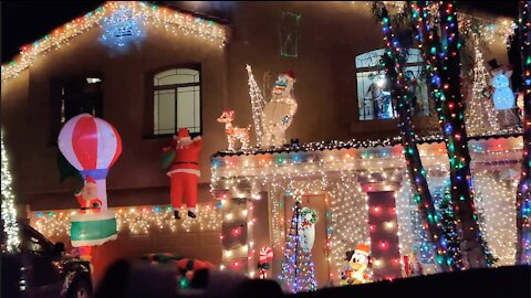 Christmas Light Display 2020