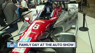Grand Prix on display at Family Day - Video