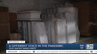 Valley company struggling to keep up with demand for caskets