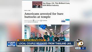 Hillcrest couple released from Thailand Jail - Video