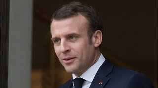 French President Macron Praises Defeat Of Islamic State