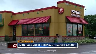 LAWSUIT: Popeyes worker says he was attacked after reporting colleague drinking on the job - Video