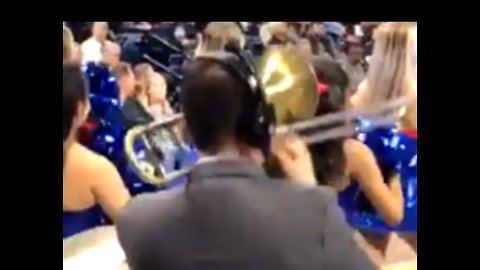 Chicago Band Conductor Plays Chance the Rapper's 'No Problem' on Trombone at Basketball Game