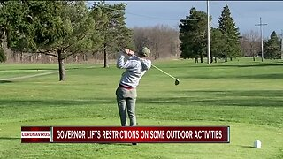 Golf courses, marinas back open for business