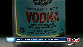 Tips to stop underage drinking