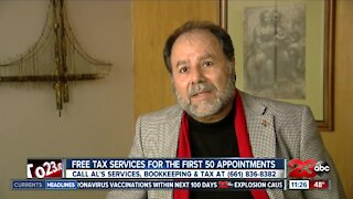 Tax preparer offering free tax services amid the pandemic
