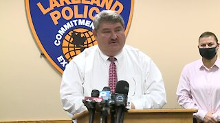 Press conference: Lakeland police announce arrest in double-homicide