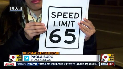 ODOT: Change highway speed limits for weather