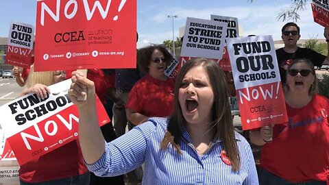 Students react to looming teacher strike, principal put on leave