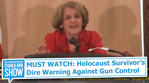 MUST WATCH: Holocaust Survivor's Dire Warning Against Gun Control