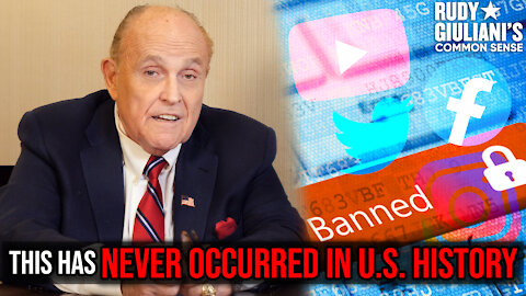 This Has NEVER OCCURRED In U.S. History | Rudy Giuliani | Ep. 103