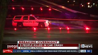 3 people killed in Henderson crash - Video