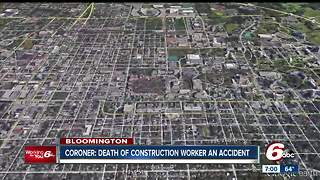 Construction worker killed on IU campus identified - Video