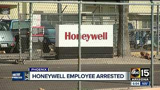 Honeywell employee arrested for planning to sell information on black market - Video