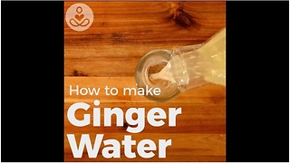 Ginger water recipe treats migraines, heartburn, joint and muscle pain