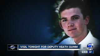 Vigil held for Adams County Deputy Heath Gumm