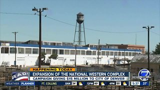 $15 Mil. boost for National Western Complex expansion - Video