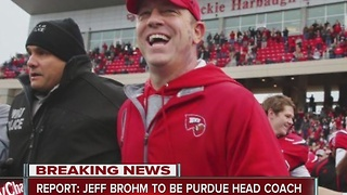 Jeff Brohm hired as Purdue coach - Video