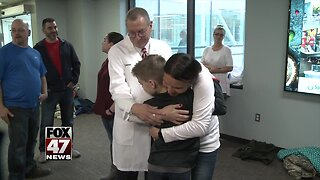 Boy hit by car makes miraculous recovery