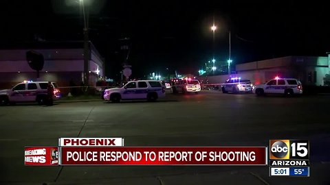 Teen among shooting victims at overnight party in Phoenix