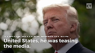 Trump Teases the Media - Video