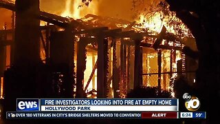 Fire destroys home in Azalea-Hollywood Park