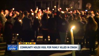 Family, friends gather to remember four people killed in Ashtabula car crash