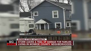 Monroe County residents still dealing with severe flooding