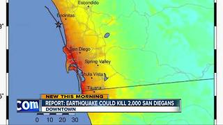 Researchers: 6.9 earthquake in San Diego could kill thousands, cost billions of dollars - Video
