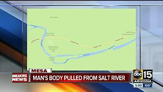 MCSO: Man drowns at Salt River after 20-foot jump - Video