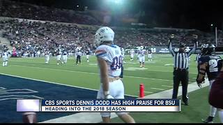 CBS Sports Dennis Dodd has high praise for BSU - Video