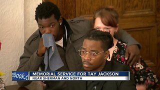 Memorial Service for Tay Jackson