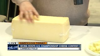 Speaking with award winners from cheese contest