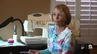 Palm City woman sews masks for medical professionals