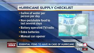 Essential Items to Have in Case of Hurricane Irma - Video