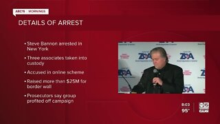 Steve Bannon, UA grad, and others arrested in online scheme