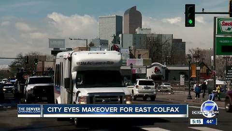 City eyes makeover for East Colfax