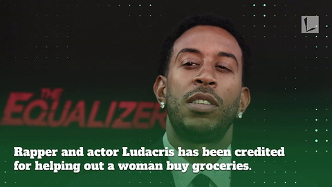 Widow Can't Afford to Buy Groceries, But Famous Rapper Ludacris Happened to Be in Line