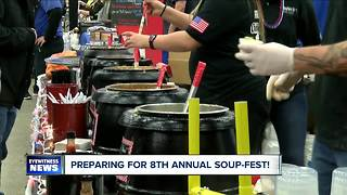 Water Lily cafe preparing for 2018 Buffalo Soup-fest - Video