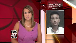 Party bus owner charged with attempted escape - Video