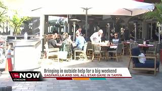 Bringing in outside help for big weekend in Tampa - Video