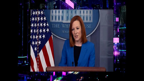 Psaki Tries Her Best To Defend Joe Biden Being The Only World Leader to Wear Mask At Virtual Summit