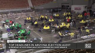 Arizona secretary of state speaks about DOJ's concerns, Governor Ducey weighs in