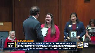 Baltimore Co. Executive Kevin Kamenetz honors three women at 'Women of the Year' Awards - Video